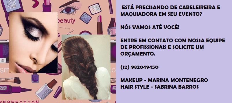 maquiagem cabeleireiro(a) visagista estudante