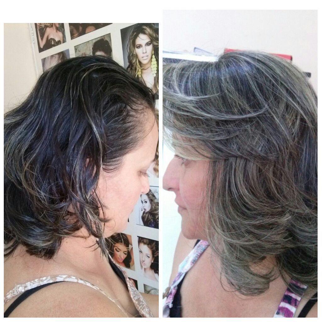 #antesedepois #reflexo #tom831 cabelo cabeleireiro(a) maquiador(a) designer de sobrancelhas