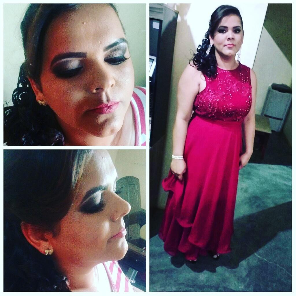 #madrinha #make_up #penteado  maquiagem cabeleireiro(a) maquiador(a) designer de sobrancelhas