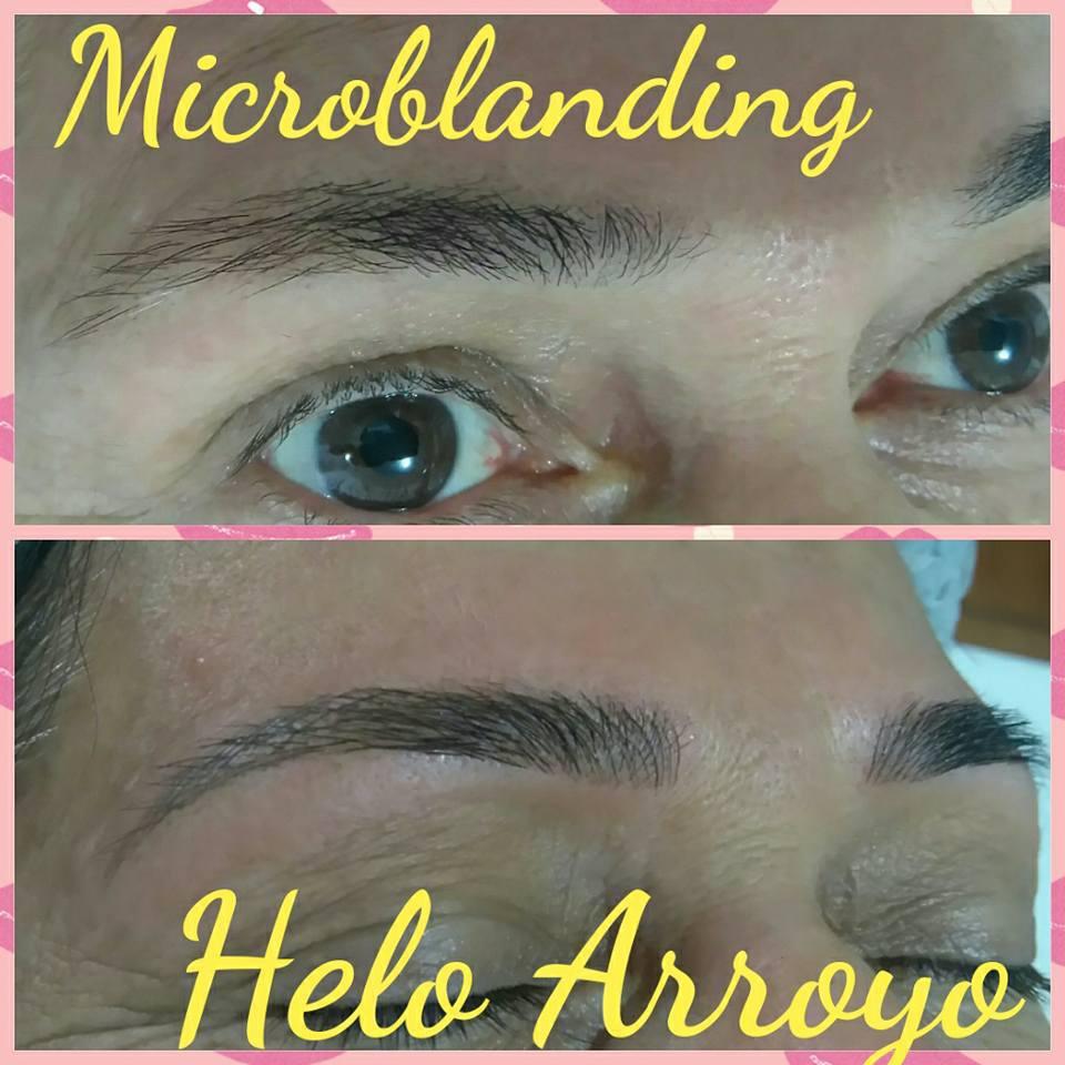 Uma técnica linda, deixa as sobrancelhas ainda mais definidas. Microblanding, amando!!! designer de sobrancelhas micropigmentador(a)