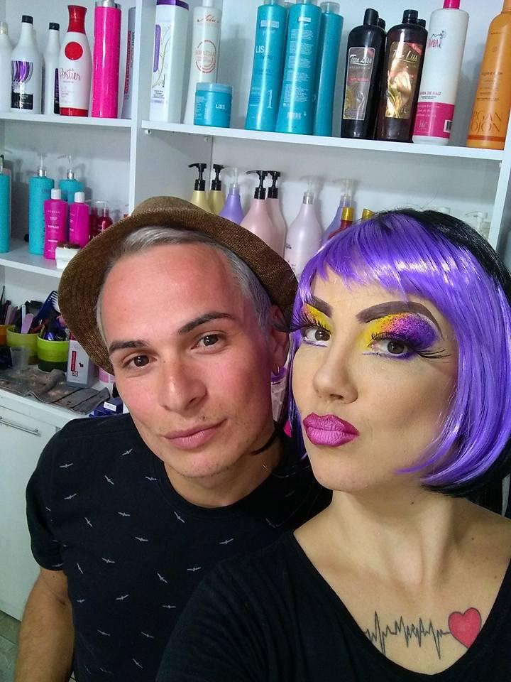 make drag maquiagem maquiador(a) designer de sobrancelhas cabeleireiro(a)