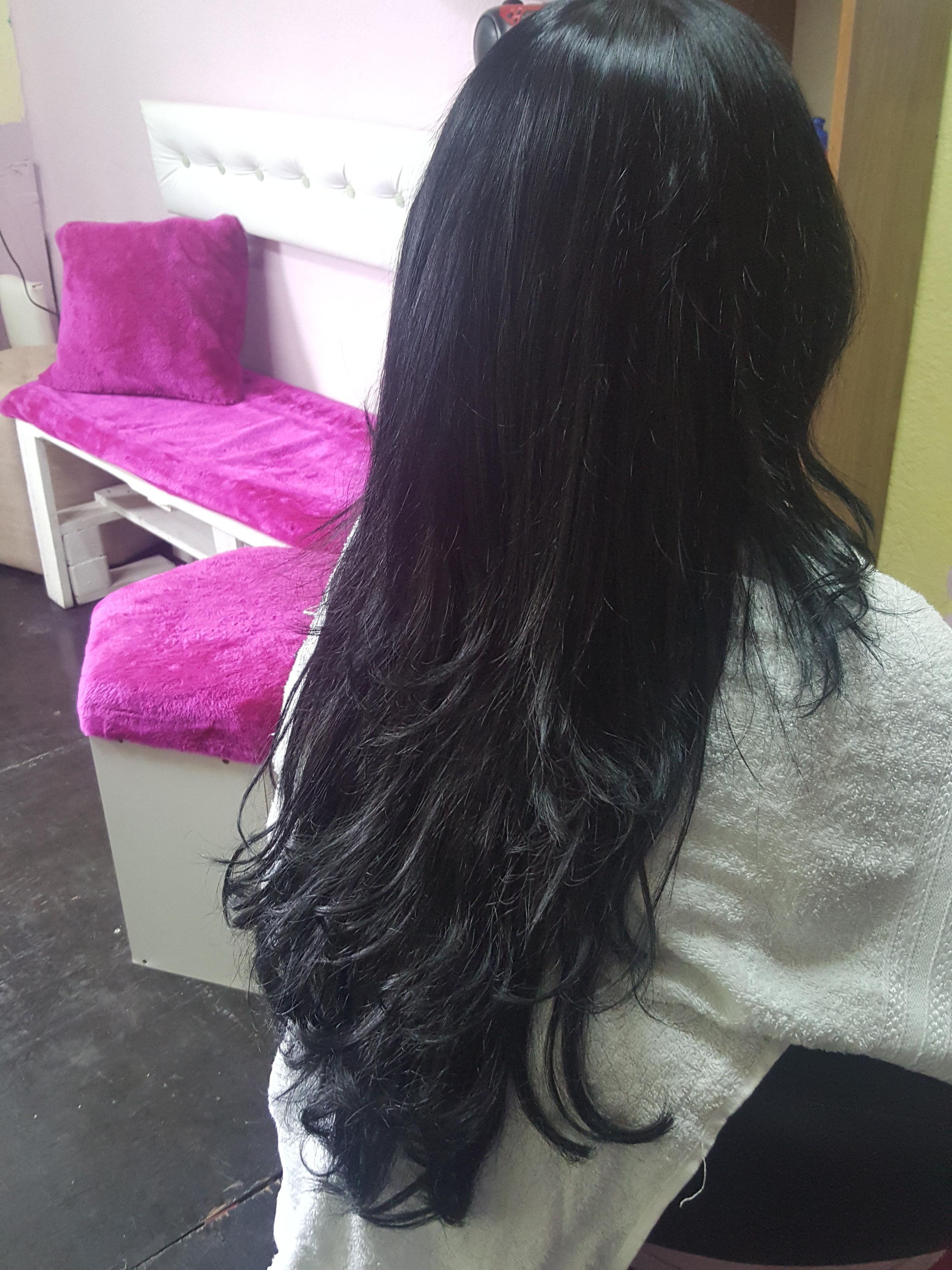 Mega Hair  cabelo cabeleireiro(a) manicure e pedicure micropigmentador(a)