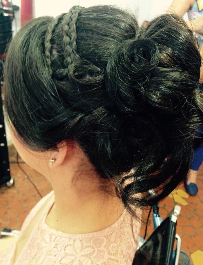 Penteado de Madrinha ! cabelo cabeleireiro(a)