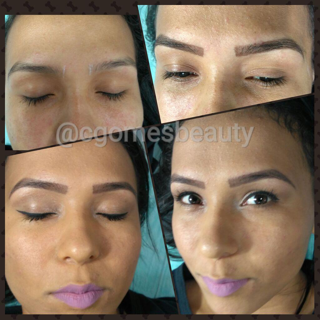 Design com henna e make básica estética maquiador(a) auxiliar cabeleireiro(a) designer de sobrancelhas