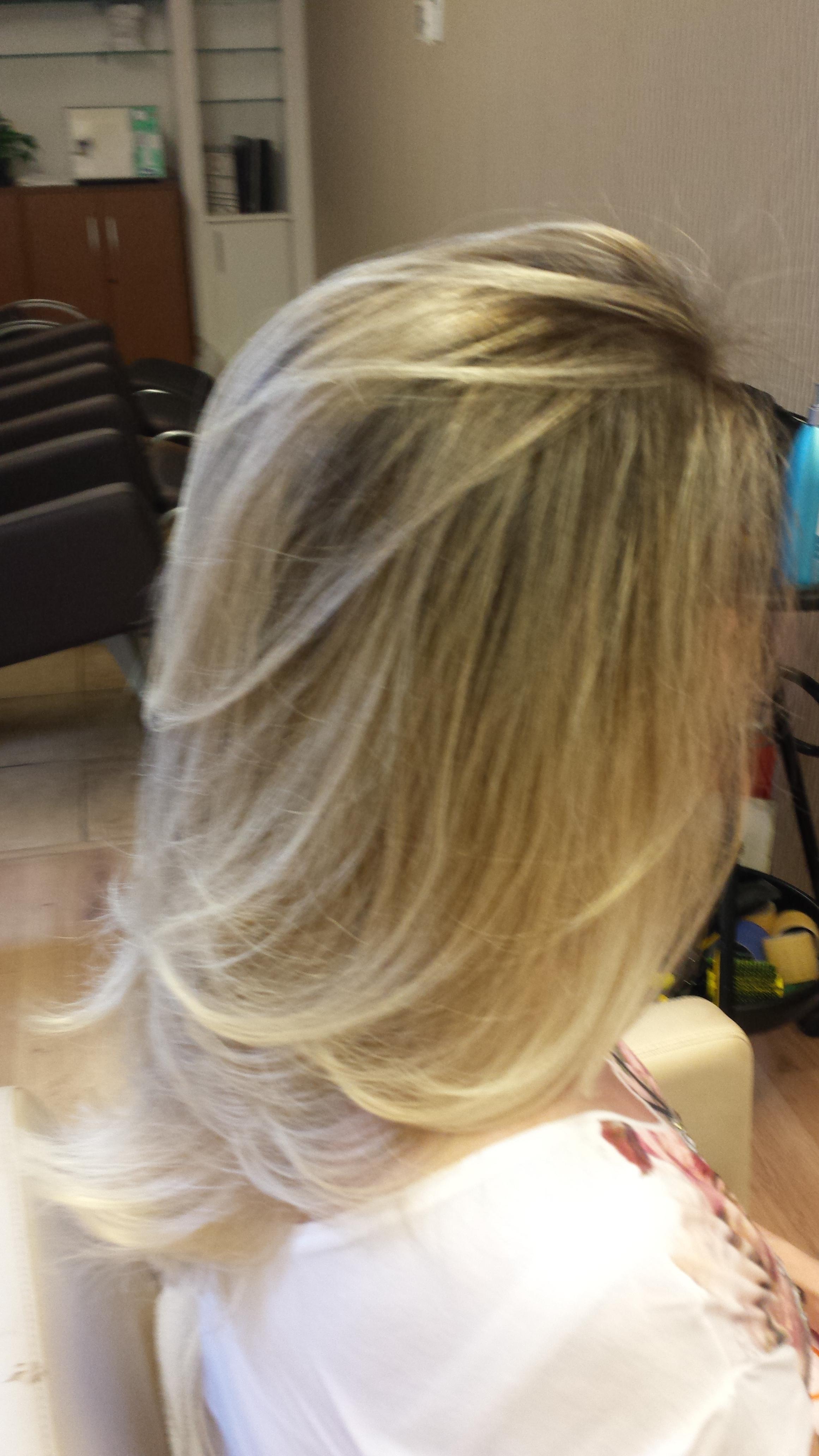 #ombrehairnewblond cabelo cabeleireiro(a)