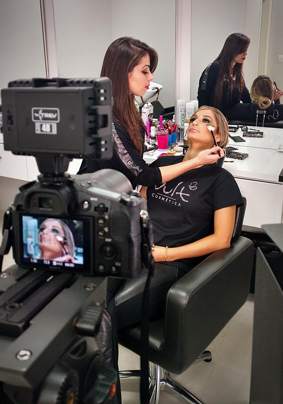 Gravação vídeo pra Convenção MIG 2017 maquiagem maquiador(a) consultor(a) designer de sobrancelhas