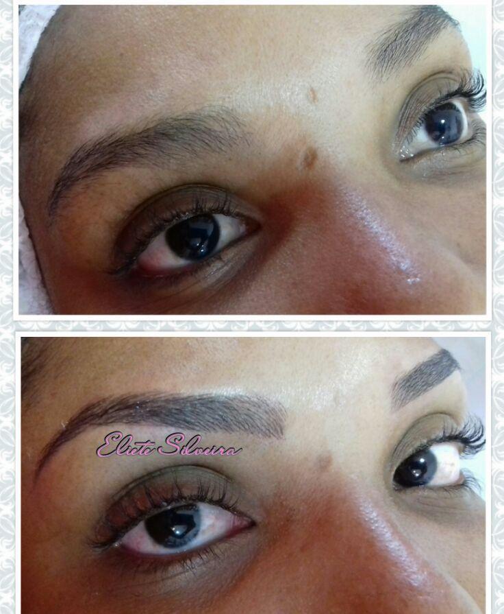 estética maquiagem designer de sobrancelhas dermopigmentador(a) depilador(a) micropigmentador(a) esteticista