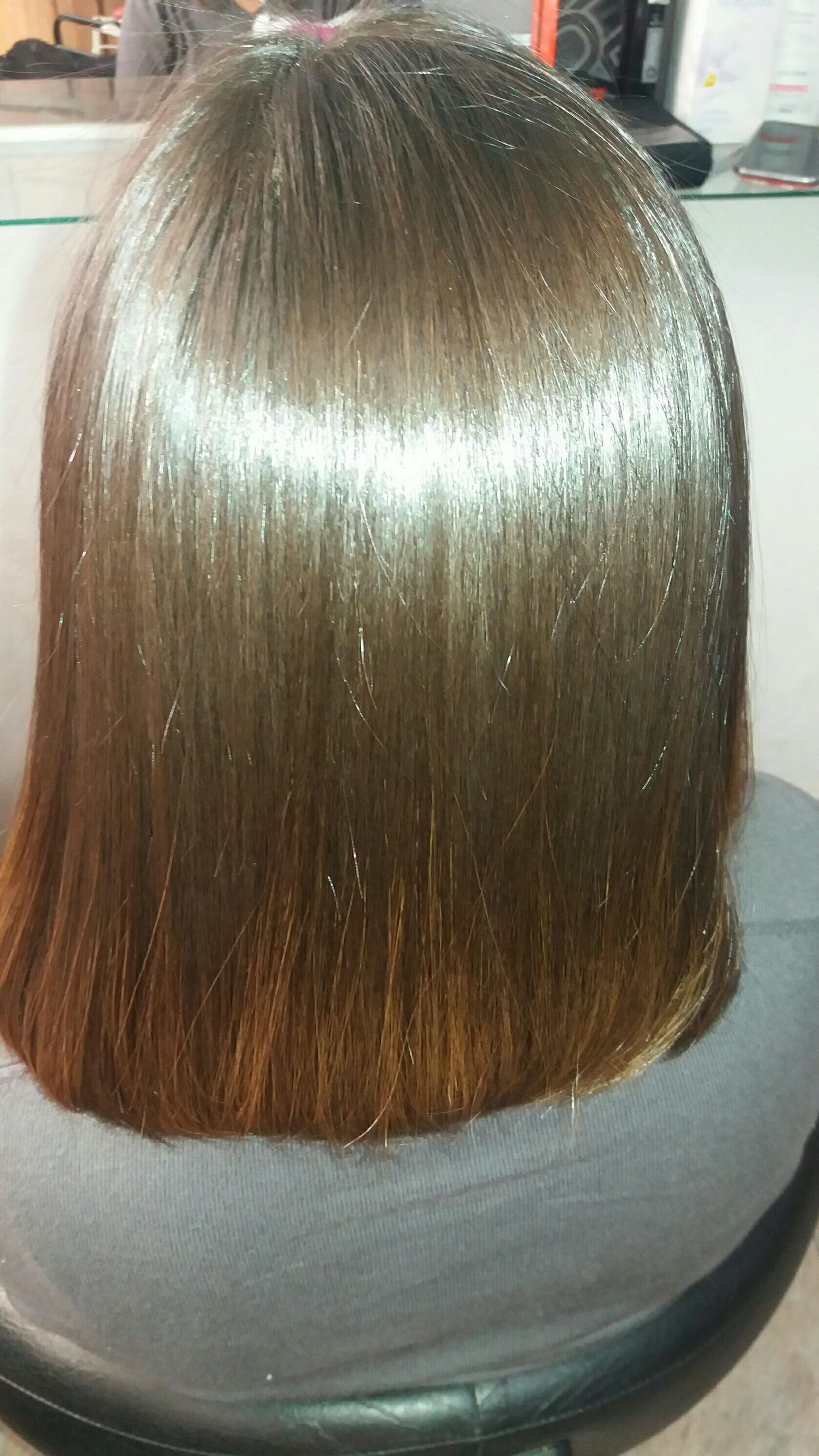 Banho de cristal cabelo esteticista cabeleireiro(a)