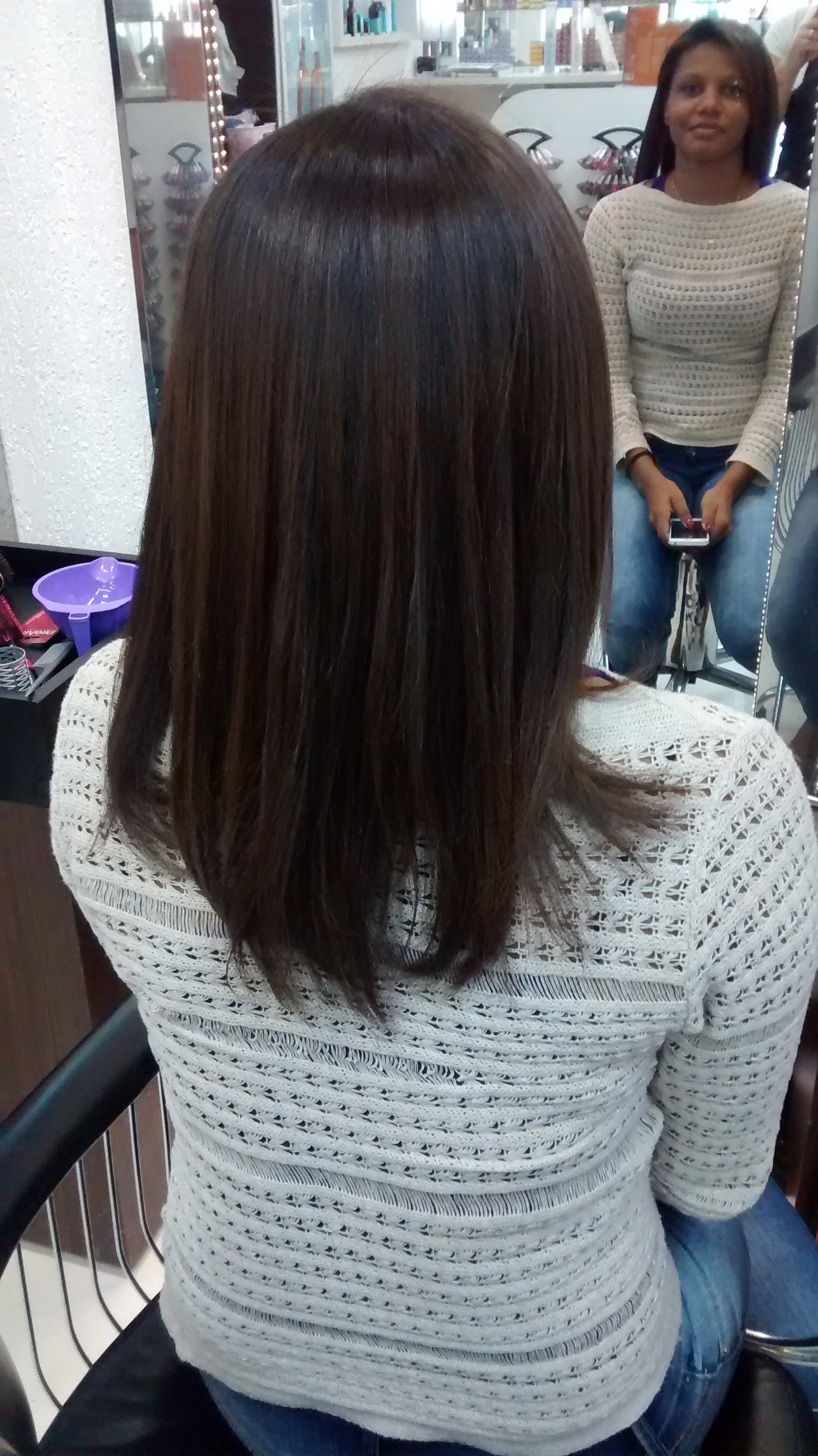 cabelo auxiliar cabeleireiro(a)