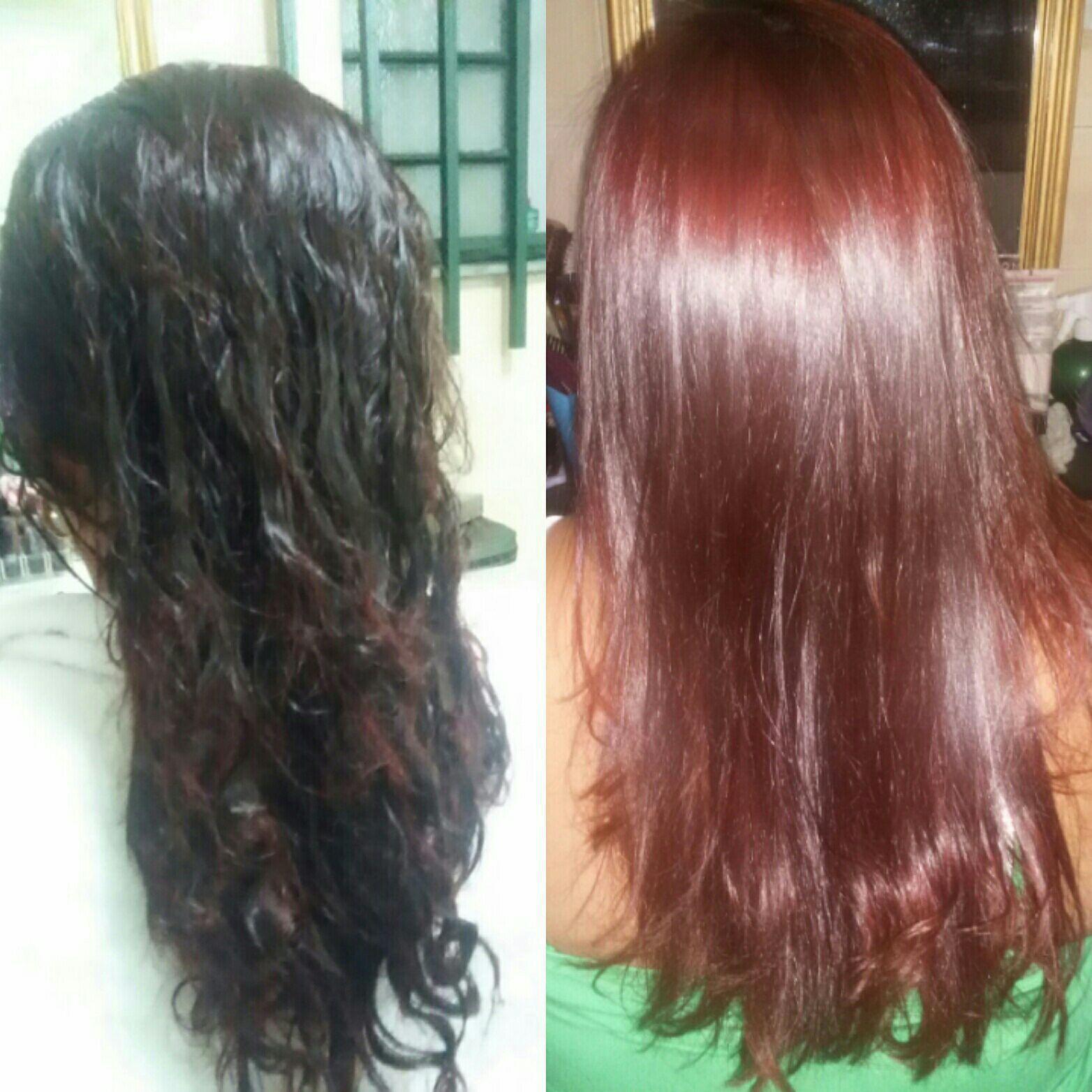 Escova Redutora e revitalização da cor cabelo cabeleireiro(a)
