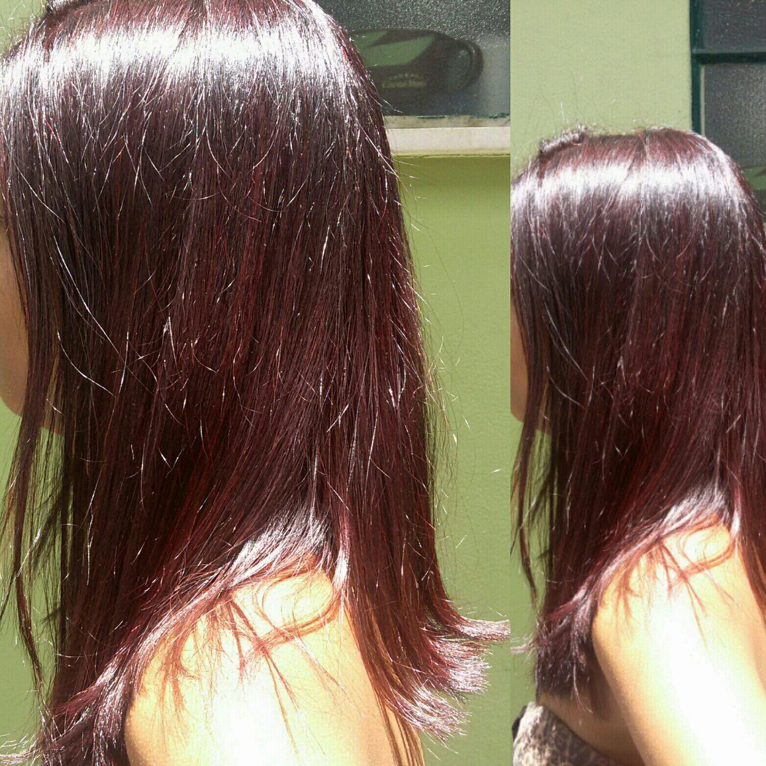 Revitalização da cor cabelo cabeleireiro(a)