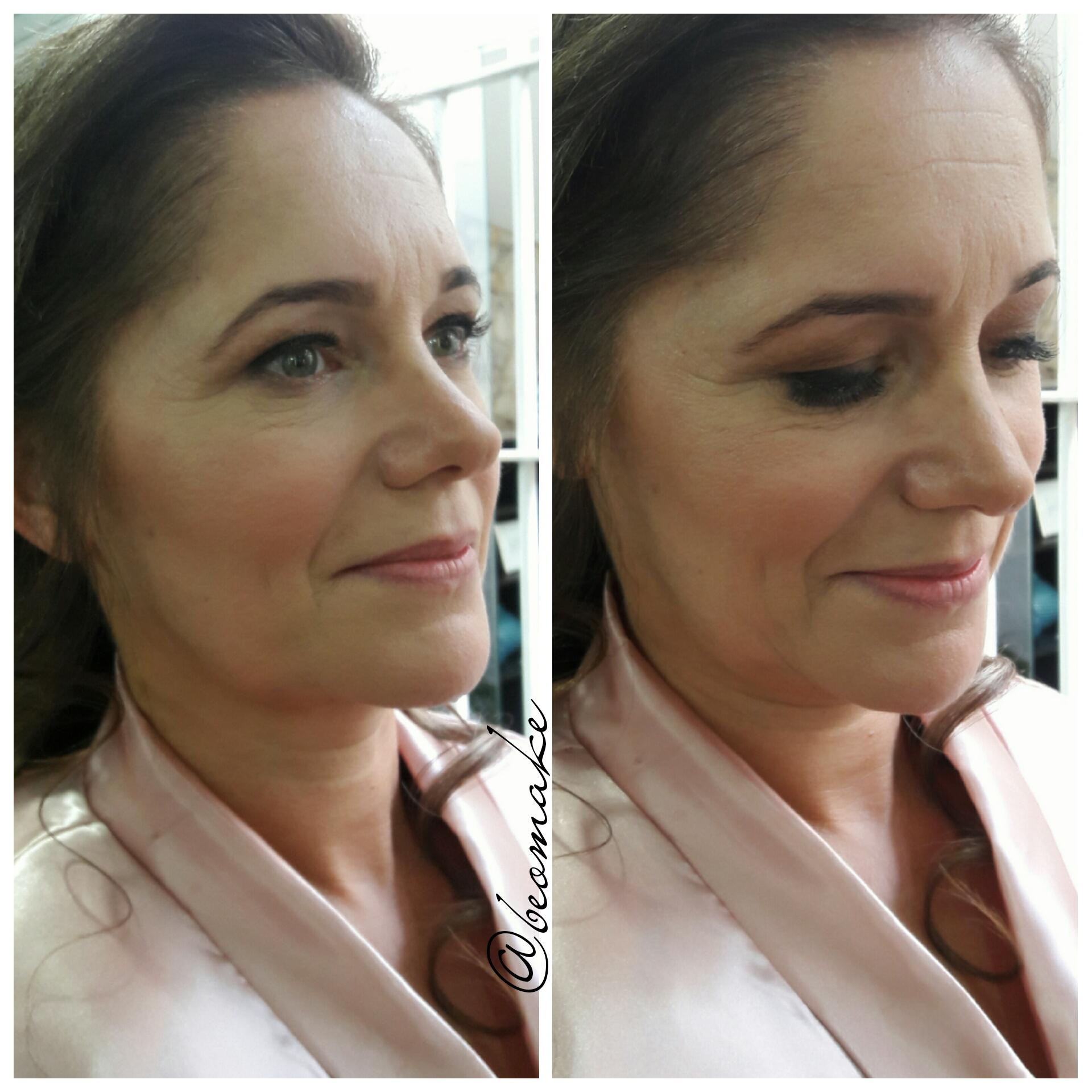 Mãe da Noiva. Make delicada pois ela não costuma se maquiar. maquiagem maquiador(a) designer de sobrancelhas