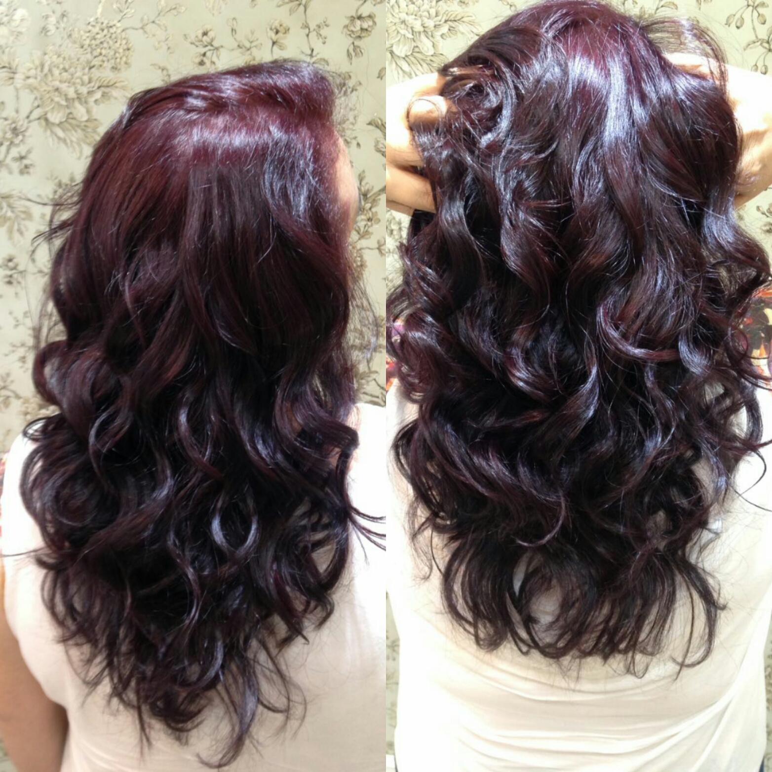 Marsala cabelo cabeleireiro(a)