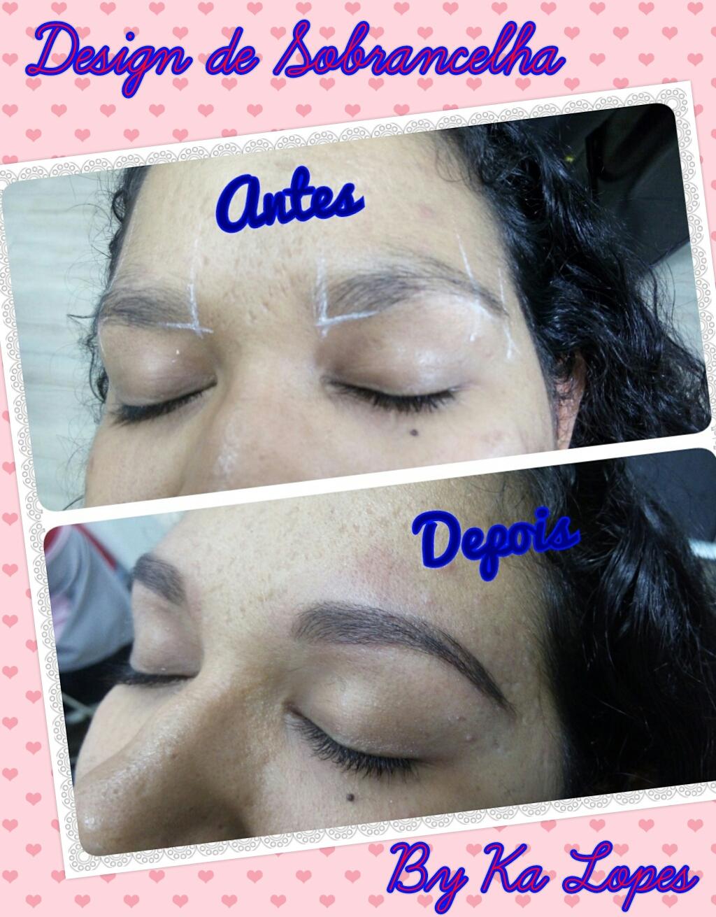 Designer de sobrancelha com correção de falhas outros depilador(a) designer de sobrancelhas