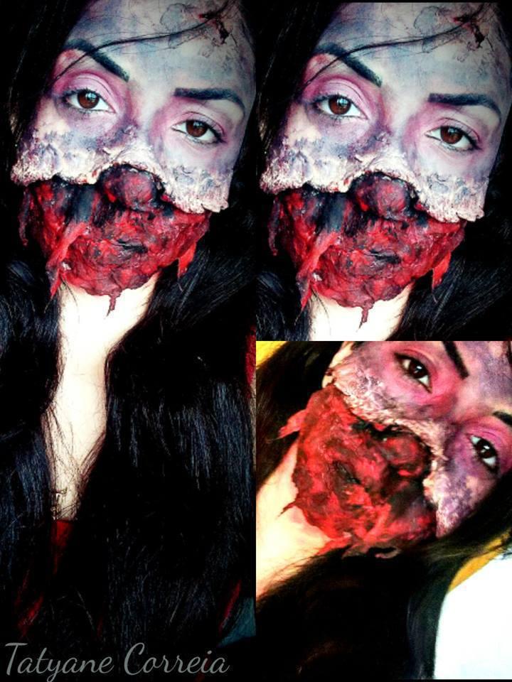 Maquiagem Artística Explosão #Makeup maquiagem esteticista depilador(a) manicure e pedicure maquiador(a)