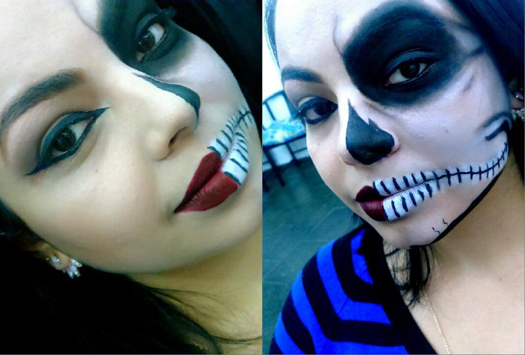 Maquiagem Artística Skull  maquiagem esteticista depilador(a) manicure e pedicure maquiador(a)