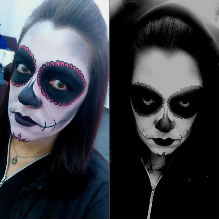 Maquiagem Artística Caveira Mexicana maquiagem esteticista depilador(a) manicure e pedicure maquiador(a)