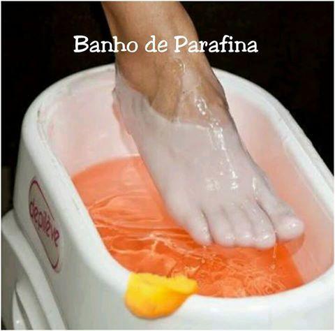 Hidratação profunda com creme de parafina unha podólogo(a)