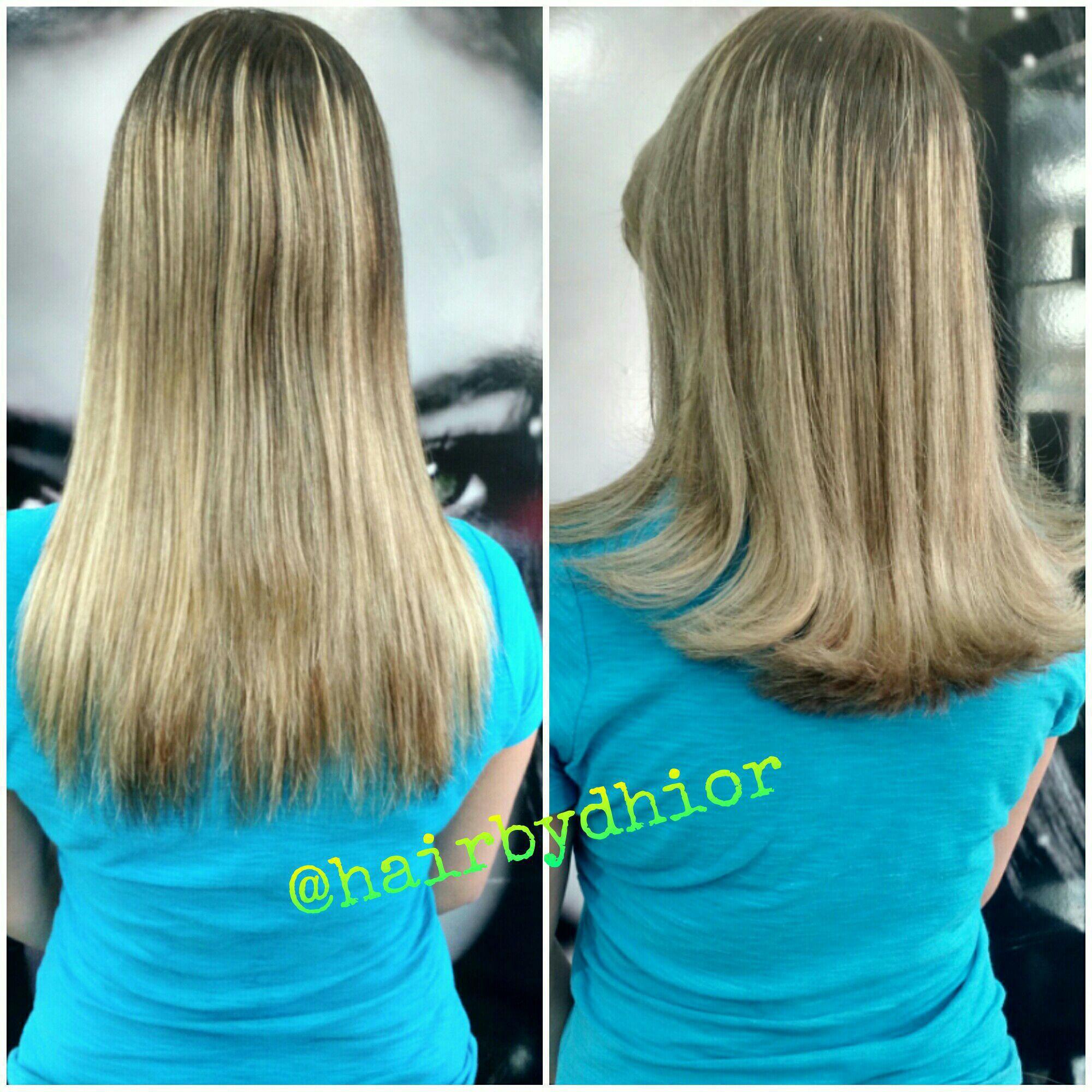 Corte+Escova cabelo cabeleireiro(a)