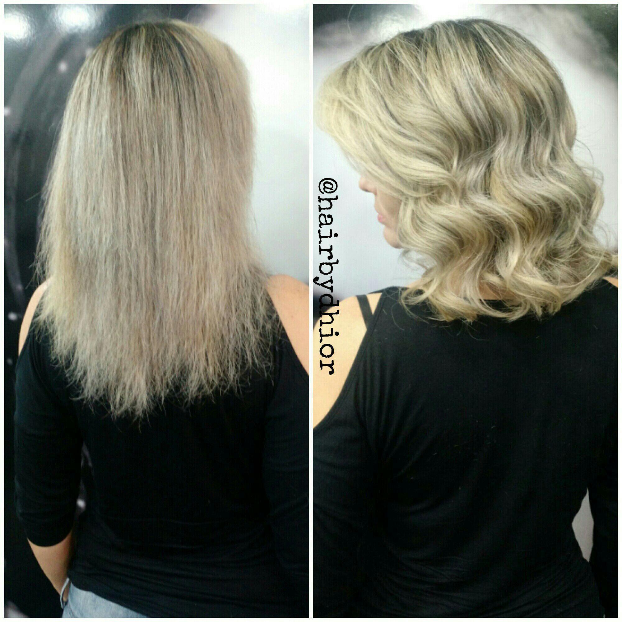 Tonalização +Hidratação + Corte +Escova cabelo cabeleireiro(a)