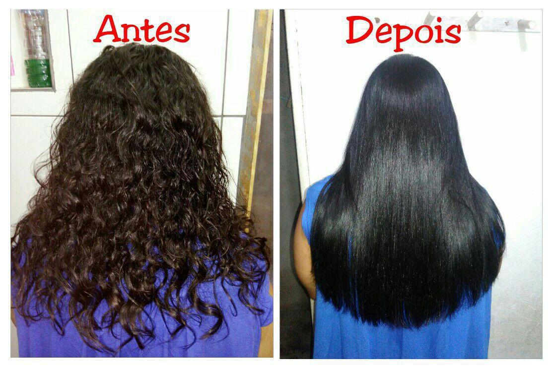 Escova Progressiva + Banho de petróleo cabelo auxiliar cabeleireiro(a)