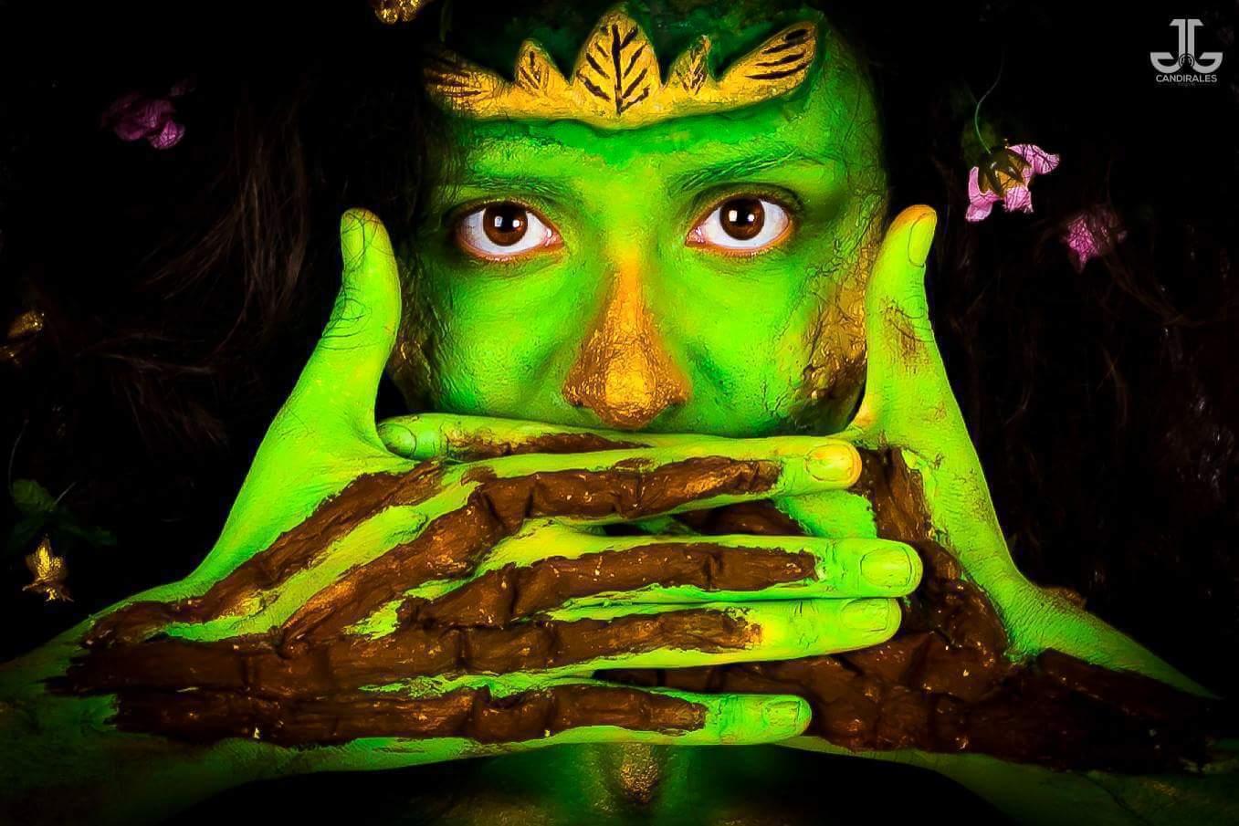 Deusa Asherah  #makeup #conceptualmakeup #maquiagemconceitual #maquiagem #maquiagemartística #artisticmakeup #bodypainting #pinturacorporal maquiagem maquiador(a)