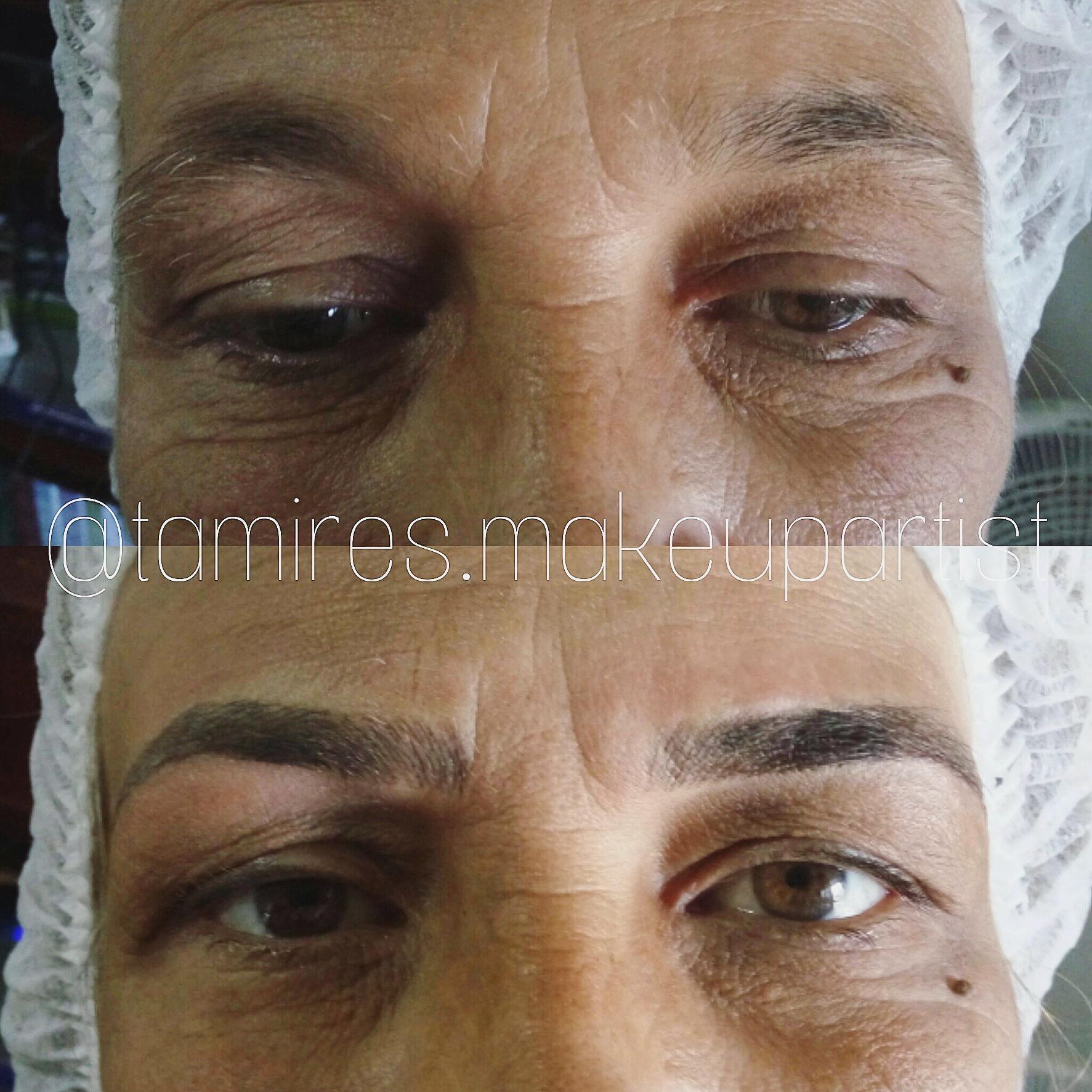 #micropigmentação #fioafio #designdesobrancelhas #microblading #tebori estética maquiador(a)