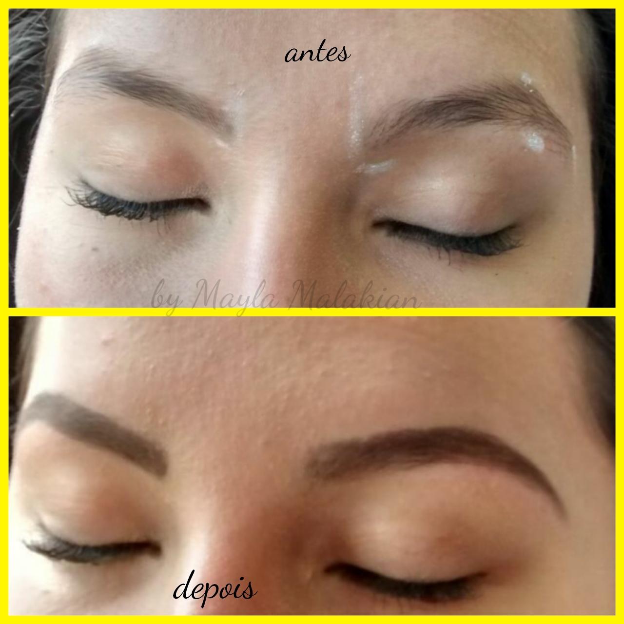 Design de sobrancelhas estética cabeleireiro(a) designer de sobrancelhas maquiador(a)