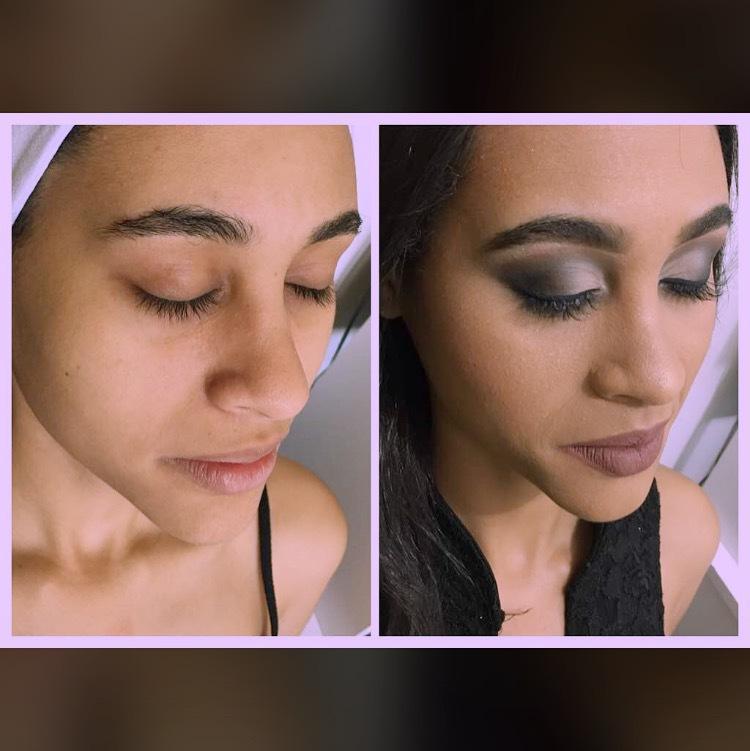 Make pele morena  maquiagem auxiliar cabeleireiro(a)