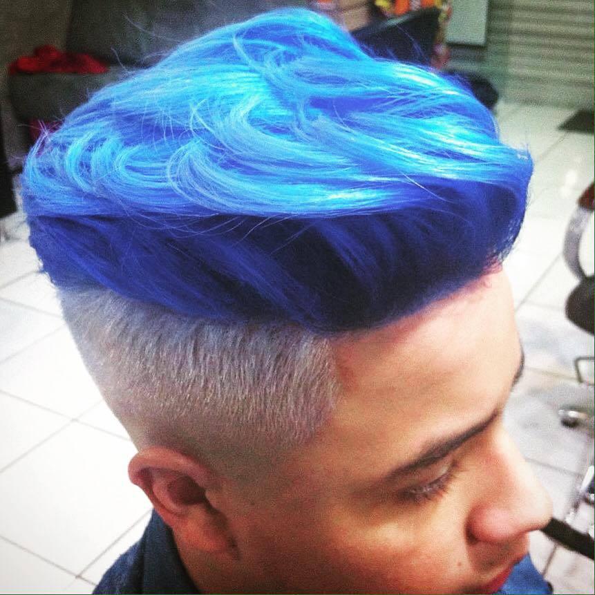 BlueAngel... Cor que transforma cabelo auxiliar administrativo