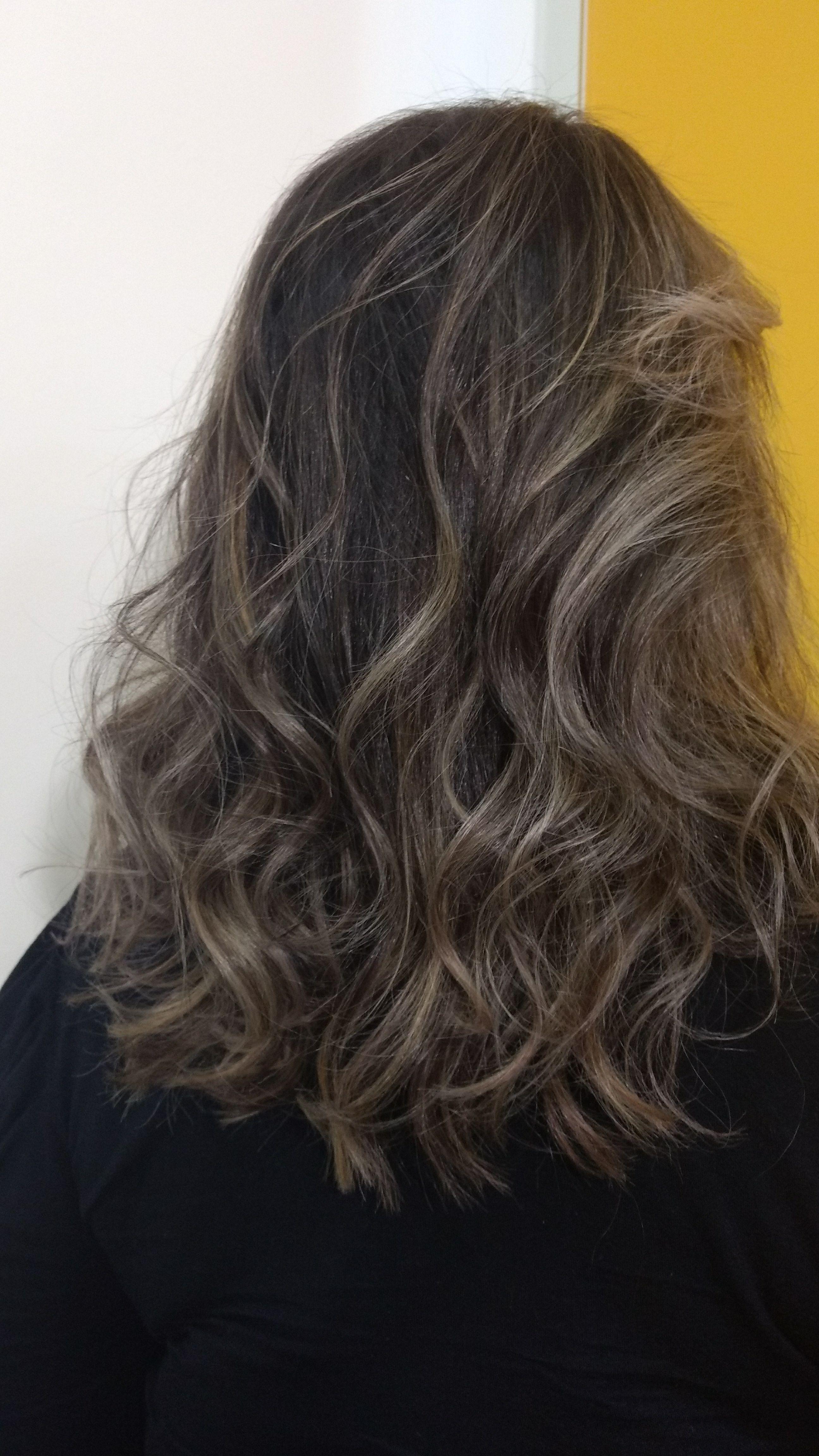 Mechas #tecnicaContorno cabelo cabeleireiro(a) designer de sobrancelhas recepcionista
