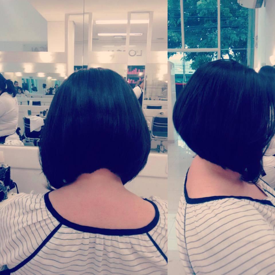 corte chanel de bico cabelo cabeleireiro(a) maquiador(a)