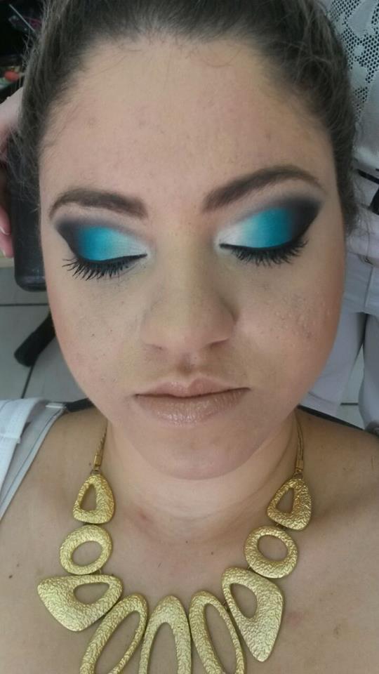 Maquiagem colorida maquiagem cabeleireiro(a) maquiador(a)