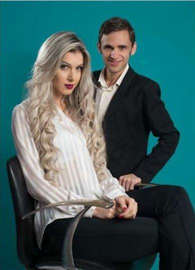 Com a linda Ex BBB Tatieli Polyana  !! maquiagem