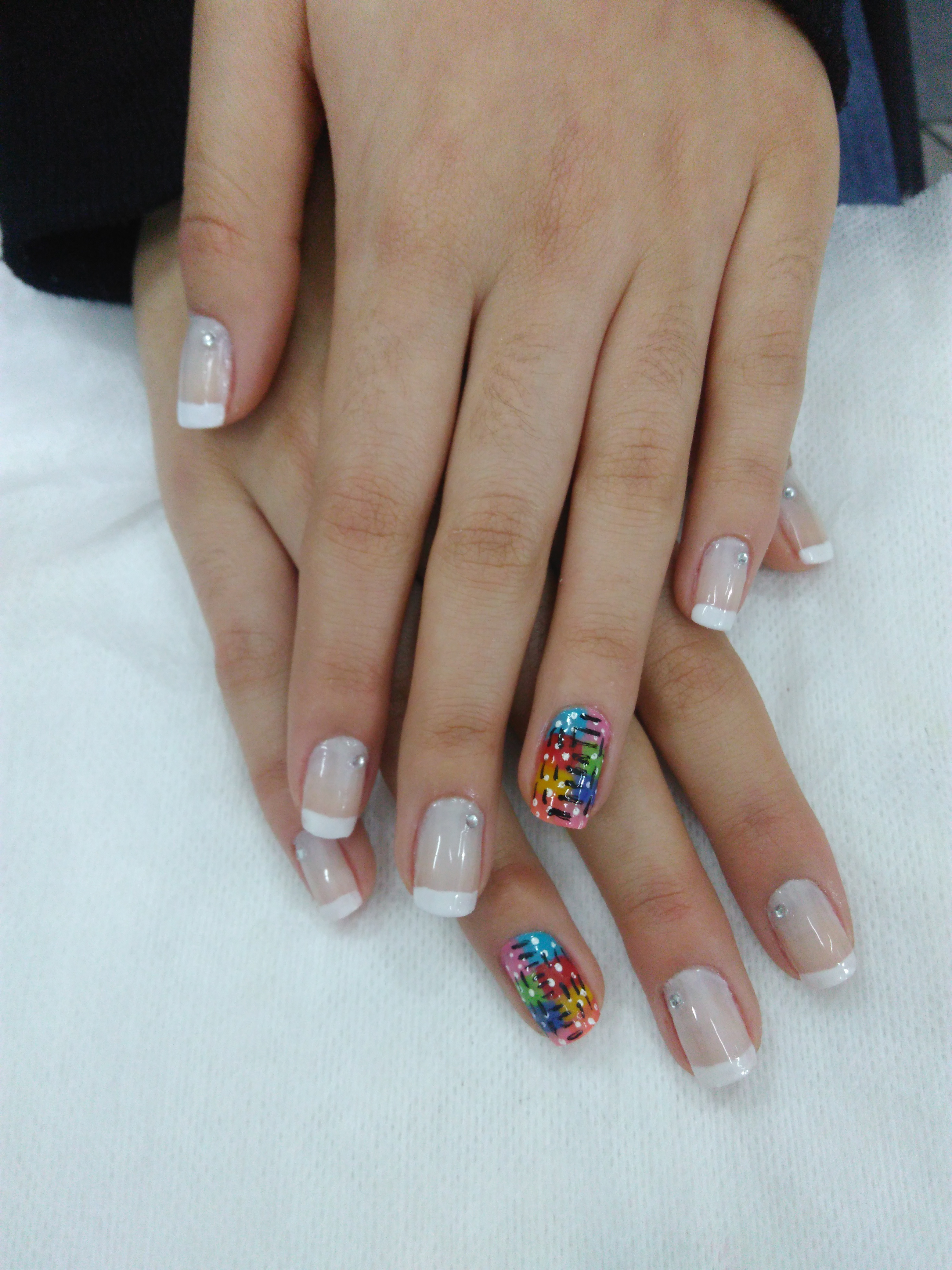 Unha decorada amor q faço 😍 unha auxiliar cabeleireiro(a) escovista manicure e pedicure