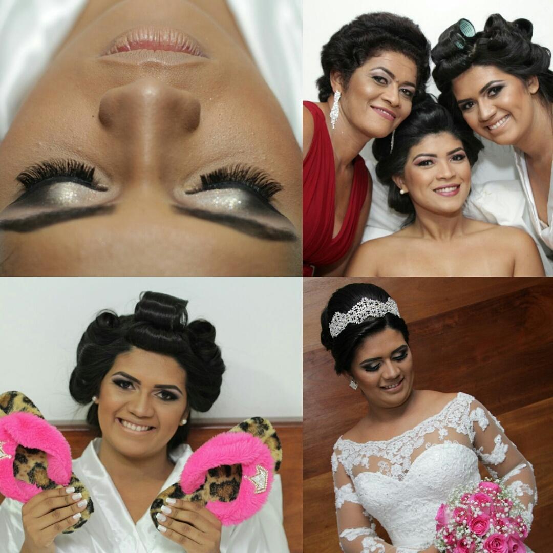 Maquiagem e Penteado por @Nyllabrittomake #minhanoivinha Agendamentos 91 982132984 maquiagem maquiador(a)