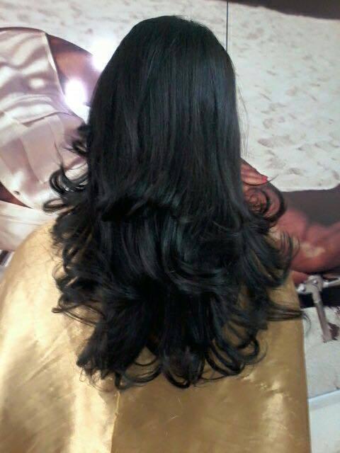 coloração, corte em camadas e hidratação, Corte com camadas ajuda a dar mais movimento, castanho escuro, cabelo cabeleireiro(a) maquiador(a) depilador(a) gerente consultor(a)