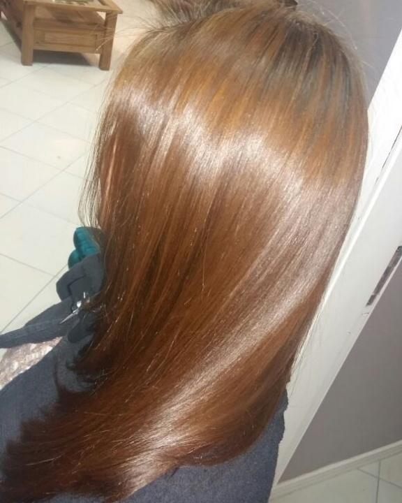 Correção de Cor! reconstrução capilar e um Ruivo perfeito!  cabelo cabeleireiro(a) maquiador(a) depilador(a) gerente consultor(a)