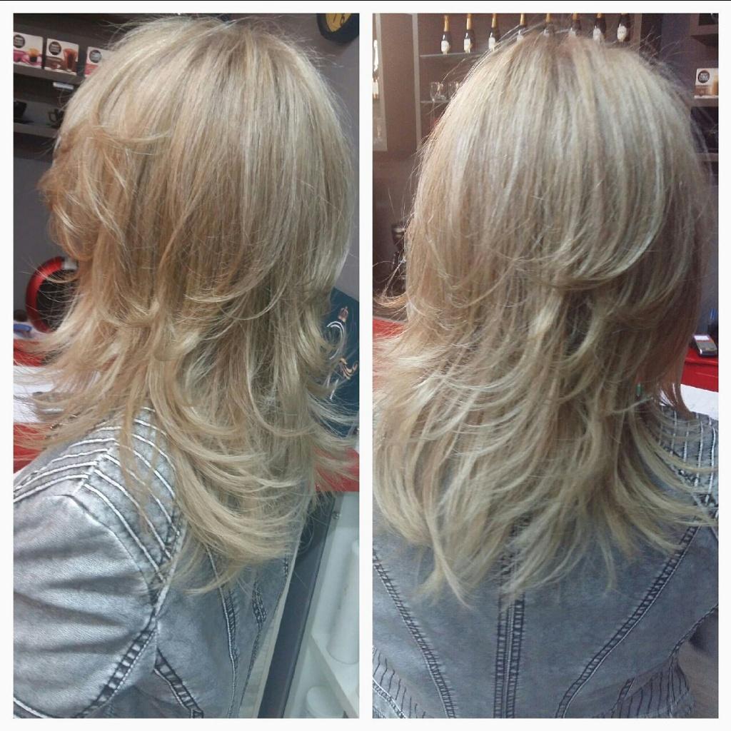 Mechas e Corte Repicado!  cabelo cabeleireiro(a) maquiador(a) depilador(a) gerente consultor(a)