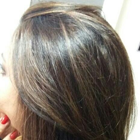 Mechas! chocolates!  Um dos visuais mais belos da morena!  cabelo cabeleireiro(a) maquiador(a) depilador(a) gerente consultor(a)