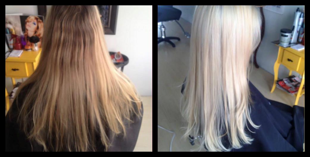 Antes e Depois!  cabelo cabeleireiro(a) maquiador(a) depilador(a) gerente consultor(a)