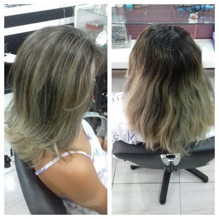 mechas retoque de raiz cabelo cabeleireiro(a) maquiador(a) depilador(a) gerente consultor(a)