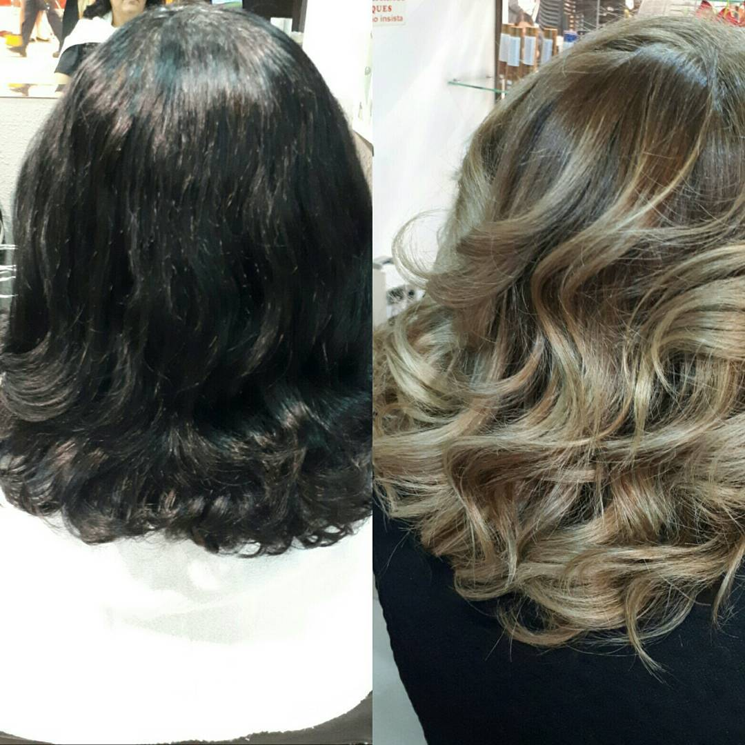 Transformação faz parte da vida .😍😍😍 cabelo gerente