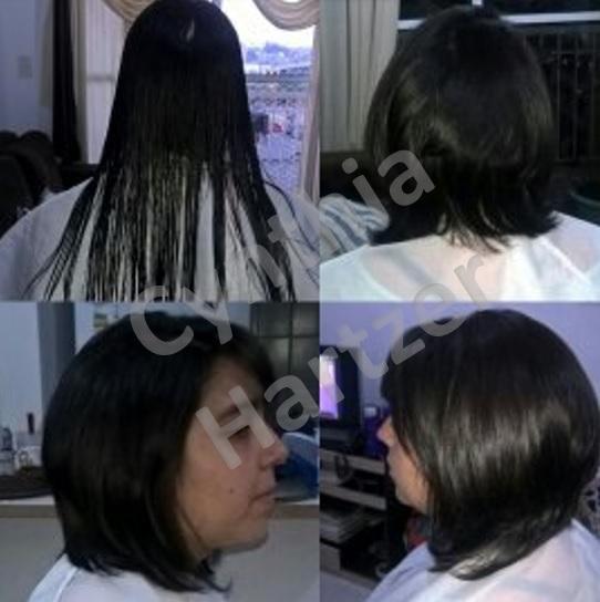 Corte proporcionando mais volume. cabelo cabeleireiro(a)