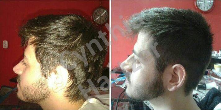 Corte masculino. cabelo cabeleireiro(a)