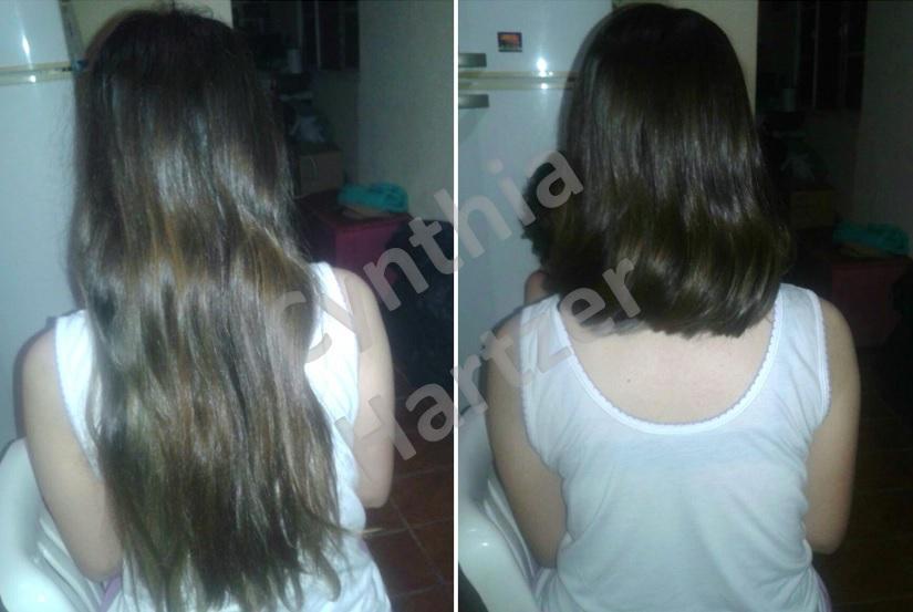 Repaginada total! De um cabelo extremamente longo e reto, para um bob moderno! cabelo cabeleireiro(a)
