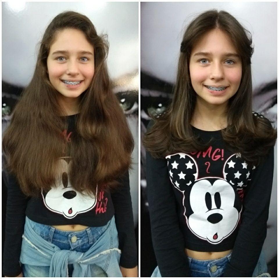 Corte + Escova cabelo cabeleireiro(a)