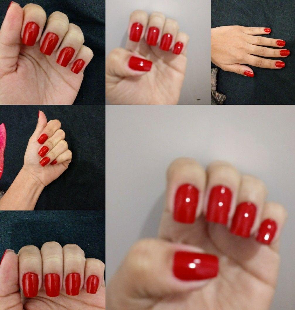 #unha #vermelha unha manicure e pedicure designer de sobrancelhas