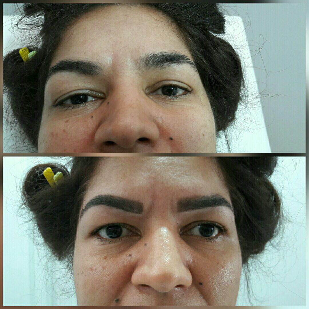 Design de sobrancelhas estética esteticista cabeleireiro(a) depilador(a)