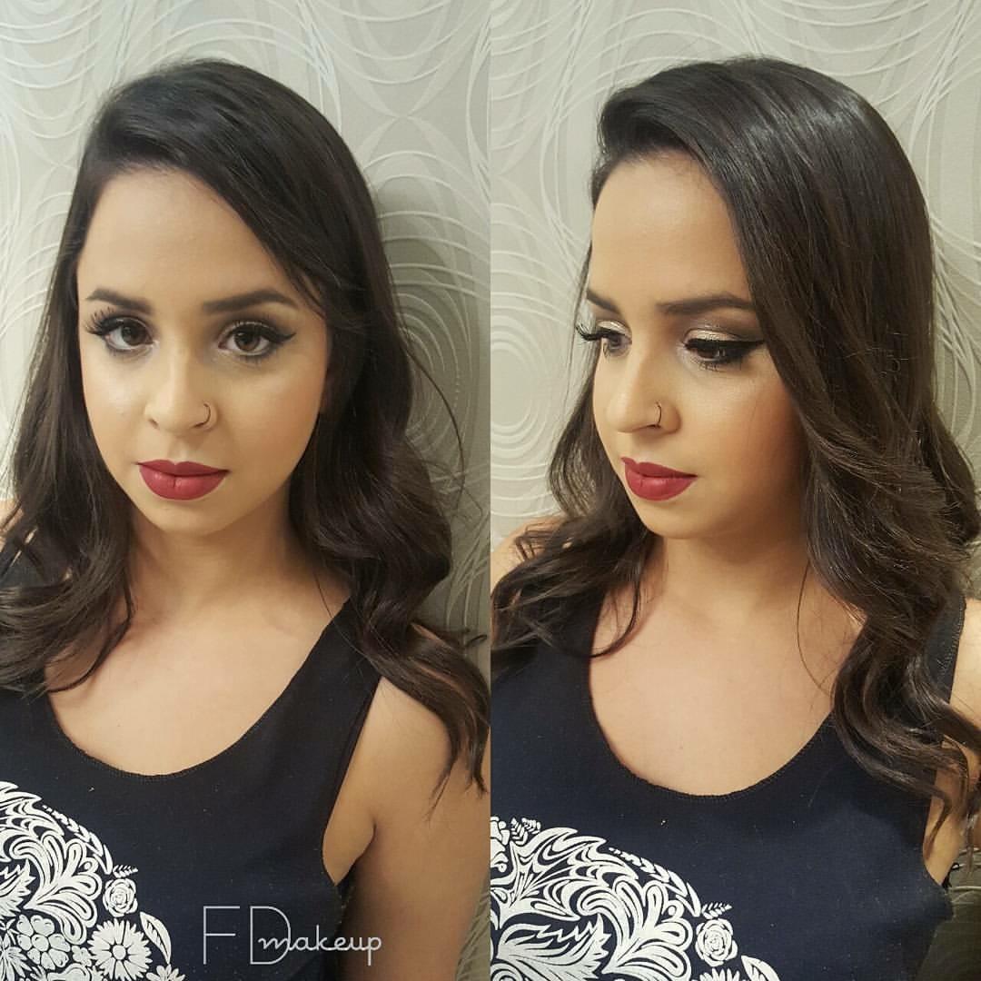 Maquiagem para formanda #makeup #maquiagemsocial #maquiagemprofissional #fernandadiasmakeup #beauty #makeupartist #maquiadorasp #maquiadoraprofissional  maquiagem maquiador(a) designer de sobrancelhas